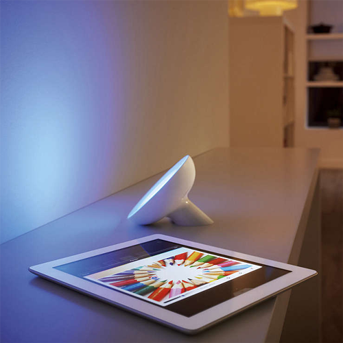 Philips Hue Bloom light on image