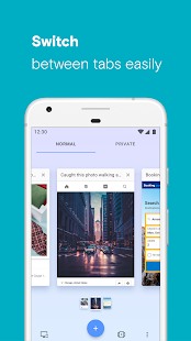 App Opera browser with free VPN APK for Windows Phone