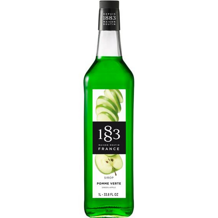 1883 GREEN APPLE SYRUP 1L
