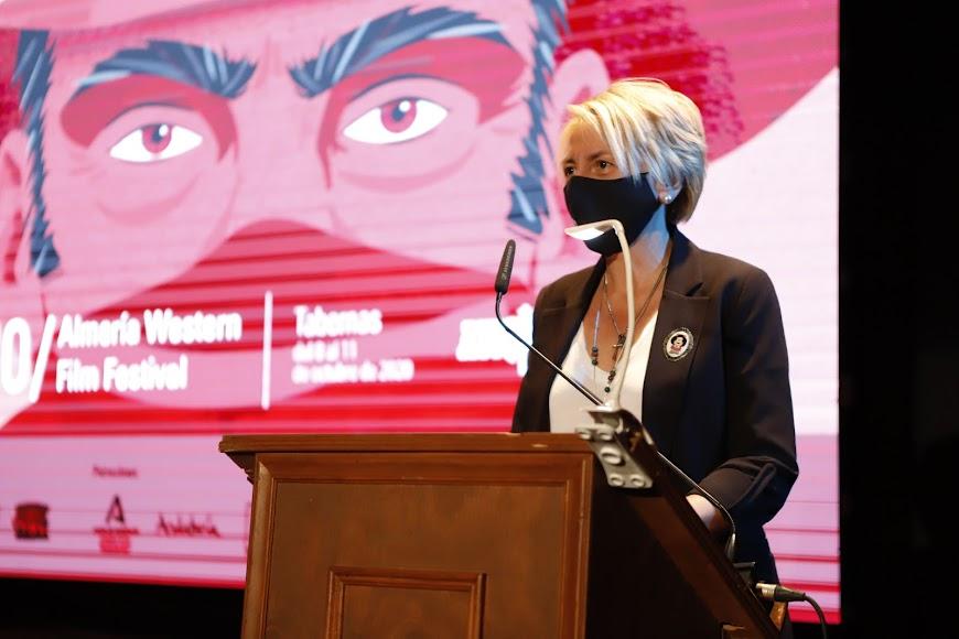 La delegada de Cultura, Eloísa Cabrera.