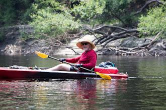 Photo: enjoying the paddle