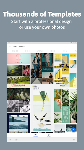 Adobe Spark Post: Graphic Design & Story Templates [Unlo