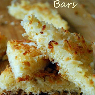 Macaroon Bars [Brought to You by McCormick]