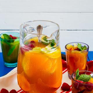 Mango and Rooibos Tea Sangria Recipe