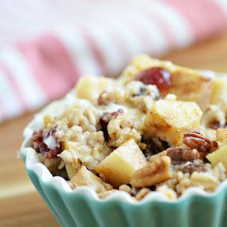 Hearty Apple Baked Oatmeal