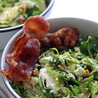 Brussels Sprouts Kale Salad