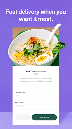 Postmates - Local Restaurant Delivery & Takeout screenshots 3