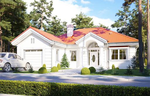 projekt Dom na parkowej 2