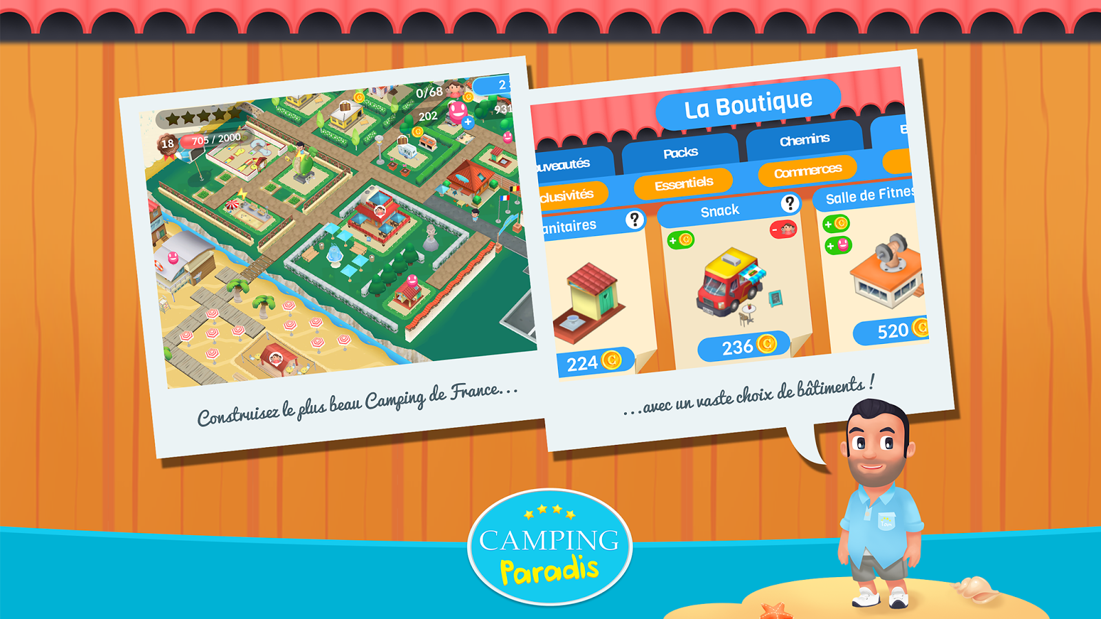 Camping Paradis Le Jeu Android Apps On Google Play