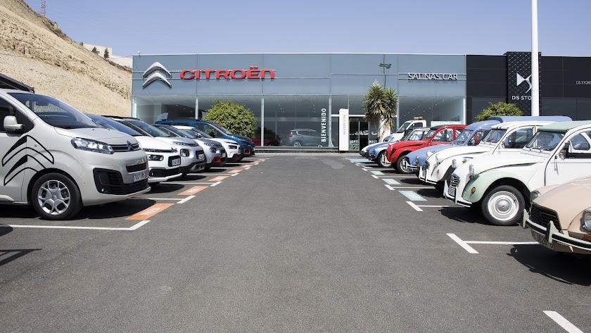 Las instalaciones de Citroën en Huércal de Almería.