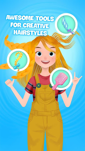 Hair salon games : Hair styles and Hairdresser 1.0 screenshots 1