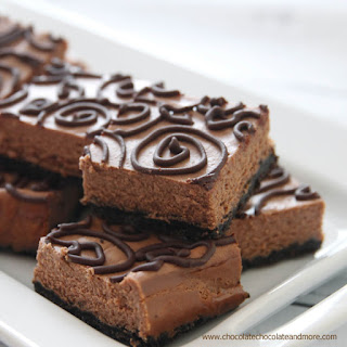 Guest Post - Triple Chocolate Cheesecake Bars
