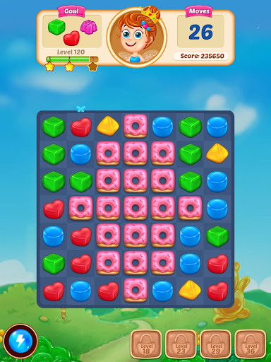 Gummy Paradise - Free Match 3 Puzzle Game  screenshots 14