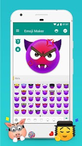 Emoji Maker! Personalize Moji! screenshot 2