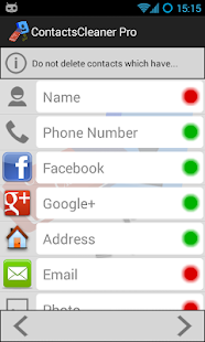 Contacts Cleaner Merge & Clean- screenshot thumbnail