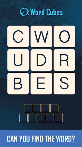 Word Cubes Screenshot