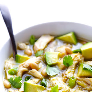 5-Ingredient Easy White Chicken Chili