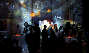 Photo: Generation 244 immersive projection at 21c Museum Hotel grand opening, 2013.04.20.