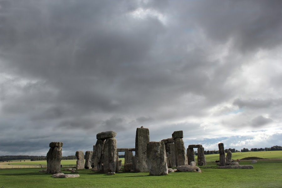 Some stones by Keith Millard - Buildings & Architecture Statues & Monuments ( druids, salisbury, england, stonehenge, wiltshire, heritage )