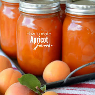 Apricot Jam and Printable Jam Labels.