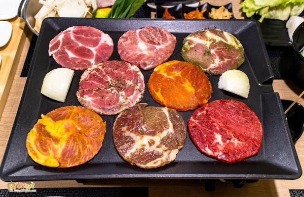 韓式八色烤肉再添一家!附菜單!越之晟 韓式八色烤肉 海鮮鍋物