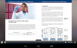 Screenshot of QIAGEN Publications