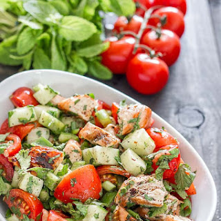 Chicken Fattoush Salad
