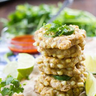 Jalapeño Vegan Corn Fritters (Two Ways!)