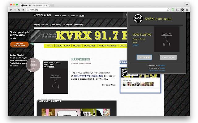 KVRX Livestream
