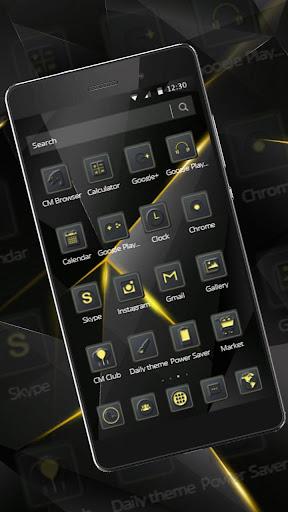 Black Luxury Theme for Huawei screenshot 12