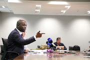 Tshwane Metro executive mayor Solly Msimanga.