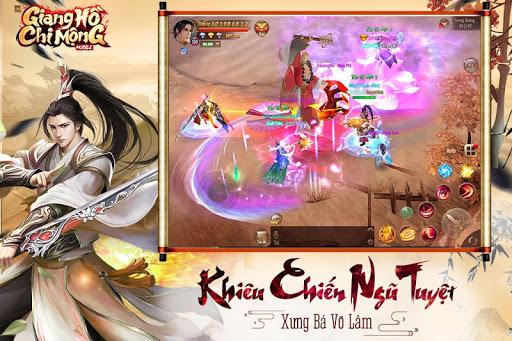 Giang Hu1ed3 Chi Mu1ed9ng - Tuyet The Vo Lam apkpoly screenshots 3