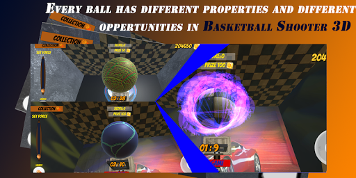 Basketball Shooter 3D - Best Ball Shooting Game android2mod screenshots 3