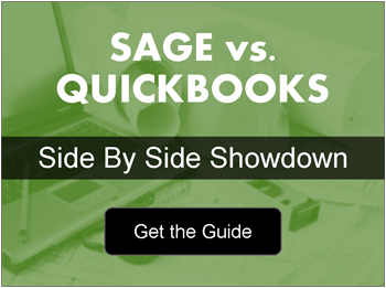 Click for Sage vs. QuickBooks Side-by-Side Comparison