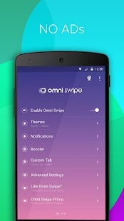 Omni Swipe Prime(Remove Ads) Screenshot
