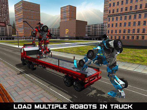 Car Robot Transport Truck  gameplay | by HackJr.Pw 10