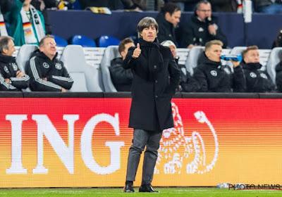 Löw was na de vele afzeggingen genoodzaakt om vier spelers te laten debuteren