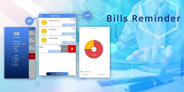 Bills Reminder - Easy Recharge Reminder - náhled