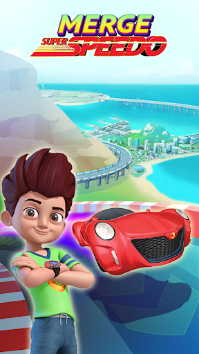 Merge Super Speedo - Kicko Car Tycoon apktram screenshots 1