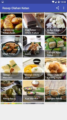 Resep Olahan Ketan screenshot 3