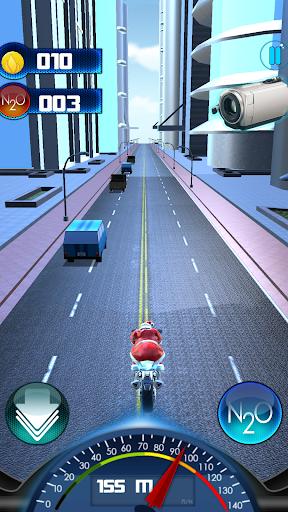 Foto do Santa Claus Motorbike Race
