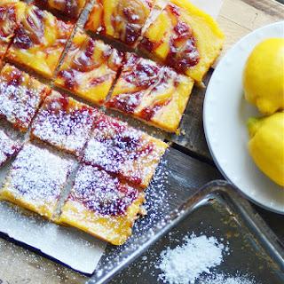 Strawberry Jam Lemon Bars