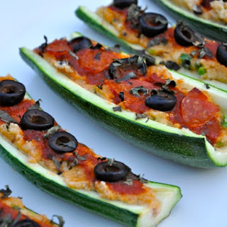 Zucchini Boats (Dairy & Gluten Free).