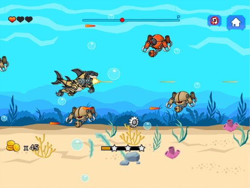 Robot Shark Attack screenshots 6