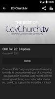 Screenshot of Evangelical Covenant Church
