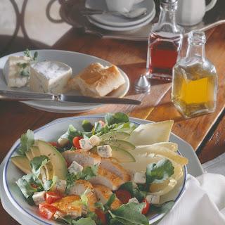 Feiner Salat mit Blauschimmelkäse