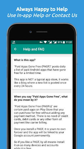 Paid Apps Gone Free - PAGF (Beta) 1.2.5 screenshots 7