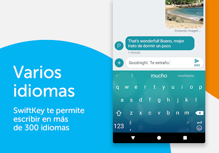 Teclado SwiftKey Screenshot