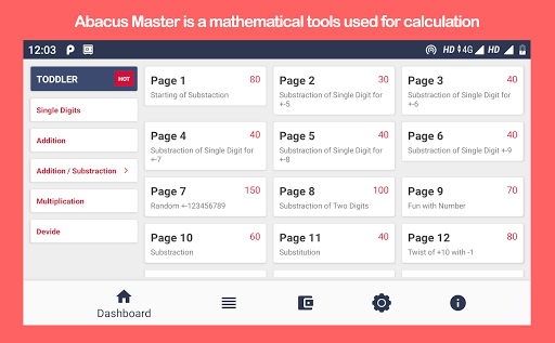 Abacus Master - Child learning app 1.0.15 screenshots 1