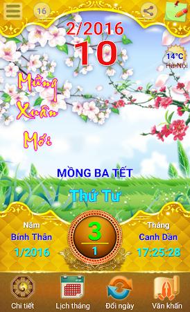 Lich Van Nien - Lịch VN 2016 7.5 screenshot 334414